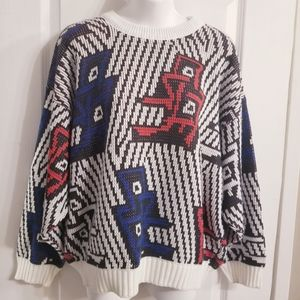 Vintage Serge Saint Yves Grandpa Sweater